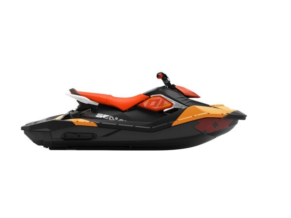 Sea-doo SPARK TRIXX 3UP -18 Orange/Röd NYHET!