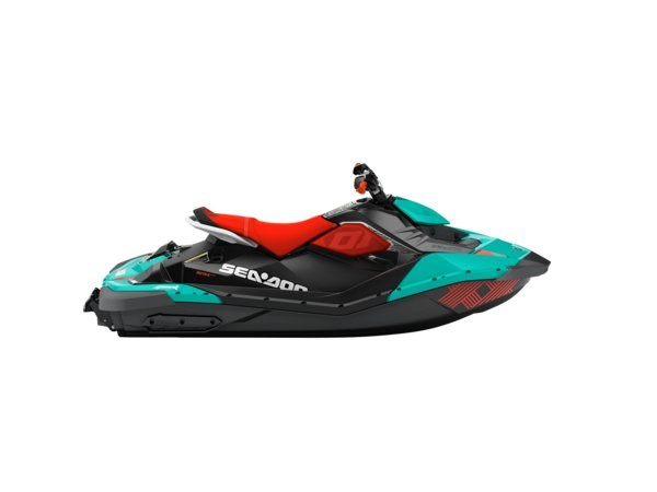 Sea-doo SPARK TRIXX 2UP -18 Turkos/Röd
