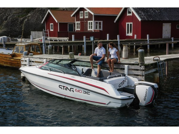 Sting 610 DC Evinrude 150 E-TEC G2 Exclusive paketet
