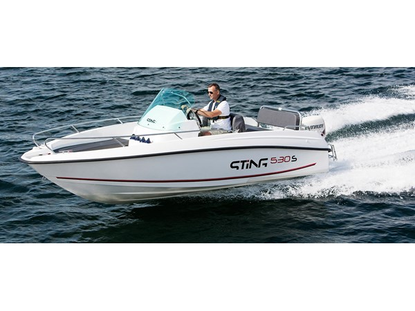 Sting 530 S Evinrude 75 E-TEC -18 All inclusive