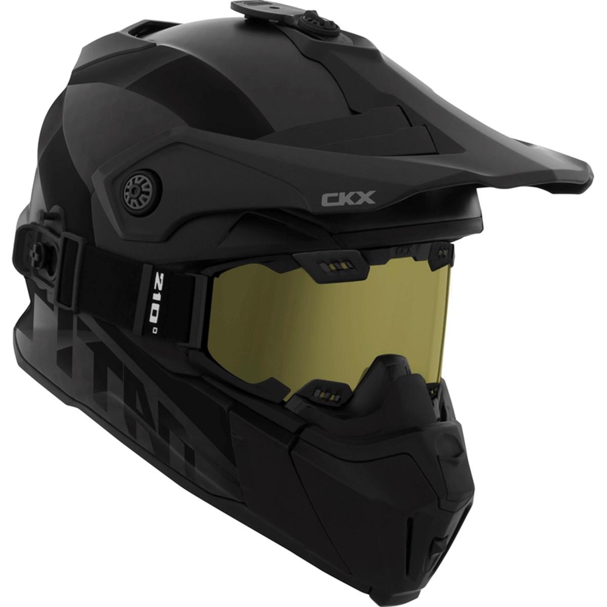 CKX Titan Hjälm + goggle svart - Snöskotrar 4f80e17ab1f89