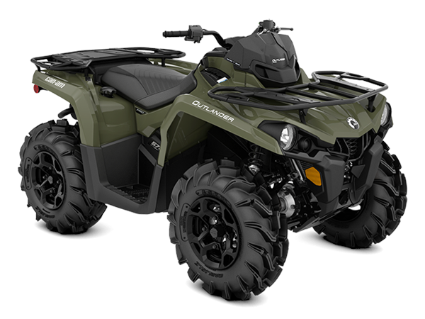Can-am Outlander PRO 570 Terräng -20