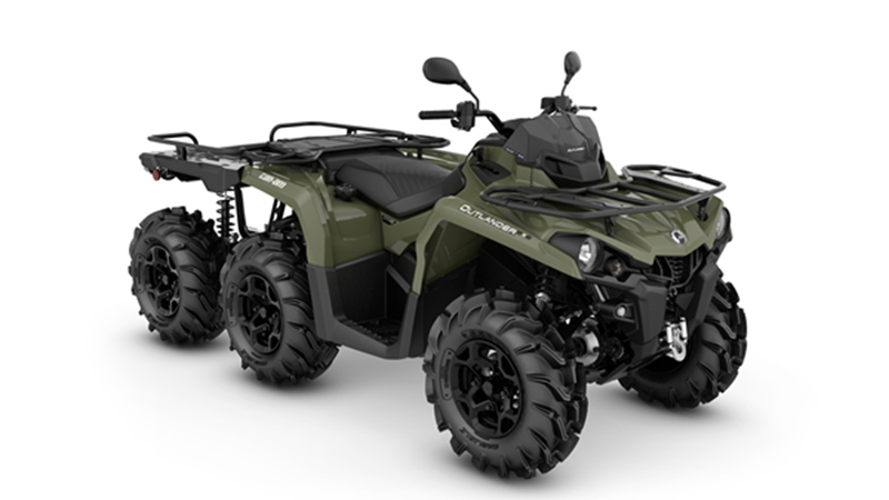 Can-Am Outlander 6x6 PRO+ 450 T3B 60 km/h