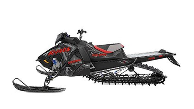 "Polaris 850 RMK Khaos 155"" 66mm Svart -20"