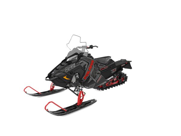 "Polaris 850 Switchback Assault 144"" Ny -20 SVART/RÖD"