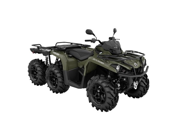 Can-Am Outlander 6x6 XU+ T 450 -21 Traktor B