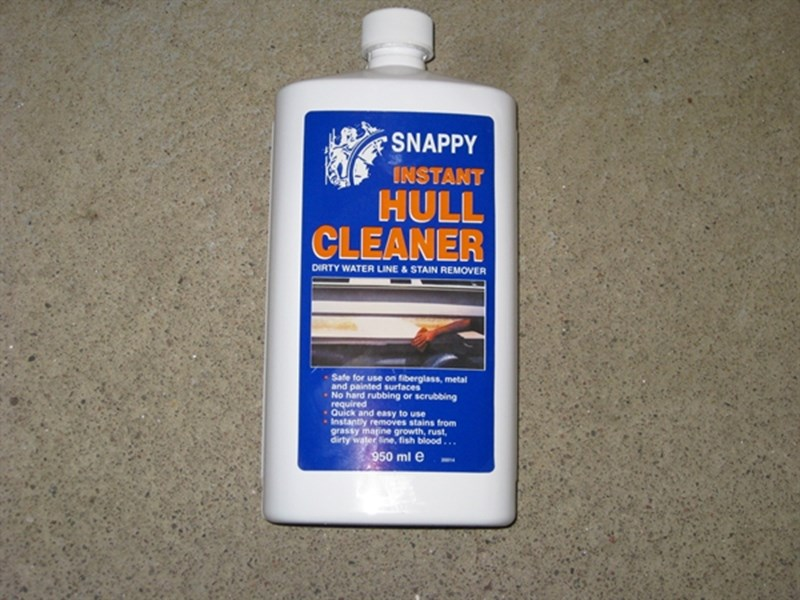 Snappy Hull Cleaner